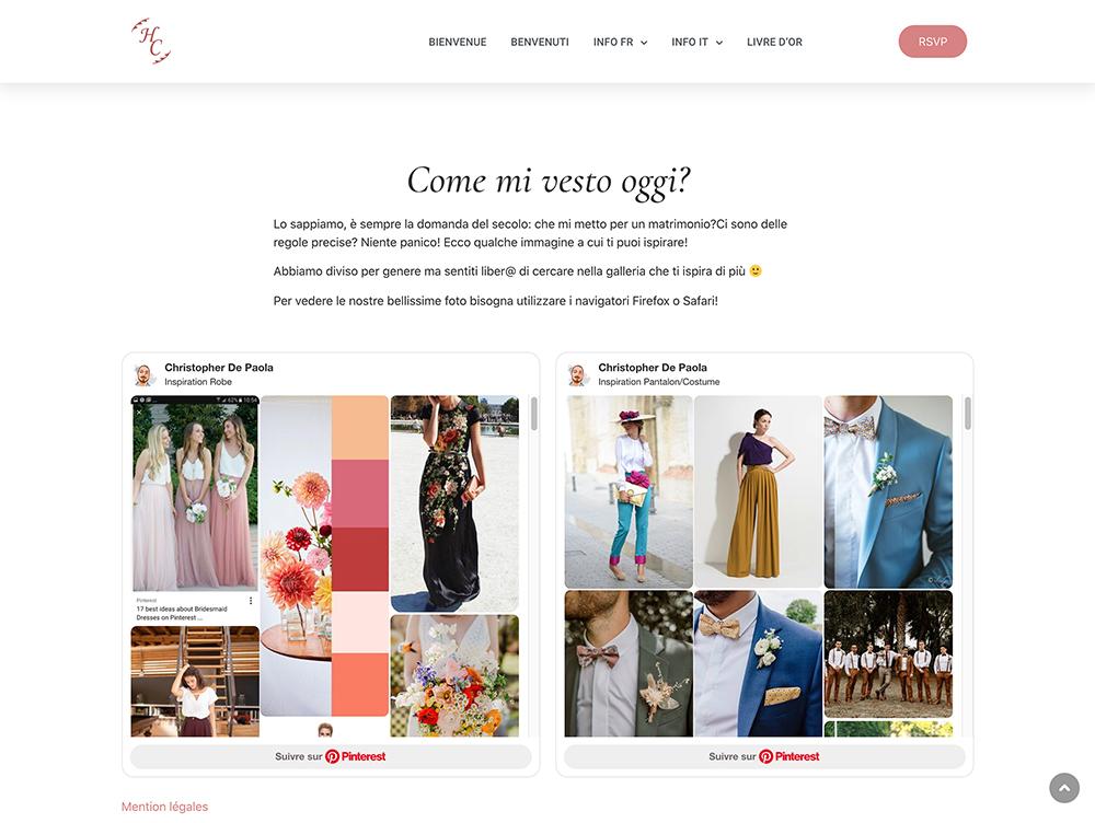 page dresscode